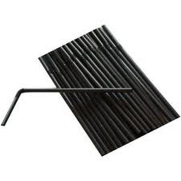 6mm Black Bendy Straws