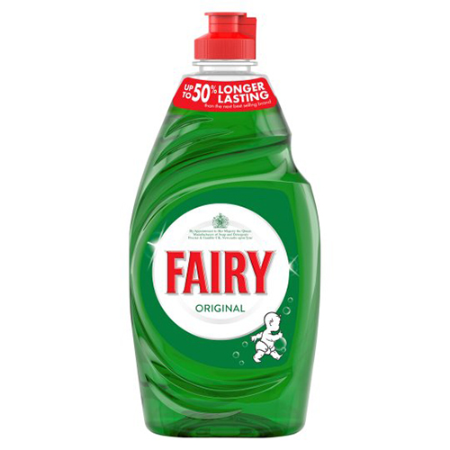 Fairy Original Washing Up Liquid - 1 x 433ml