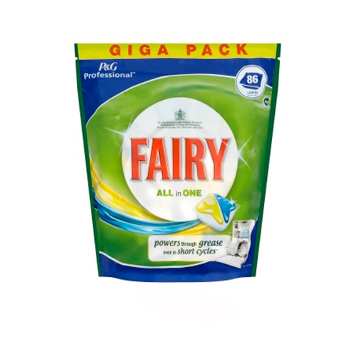 Fairy Gel Active with Lemon Tablets 1 x 100 Tablets