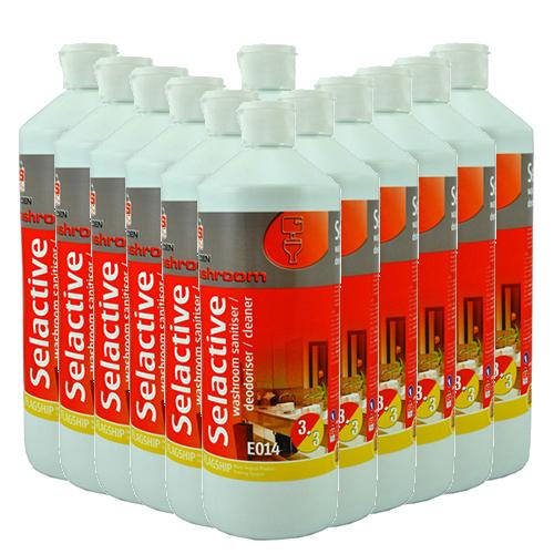 Selden Selactive 3 in 1 Disinfectant - 12 x 1L
