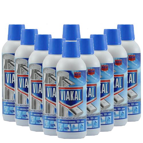 Viakal Plus Descaler - 10 x 500ml
