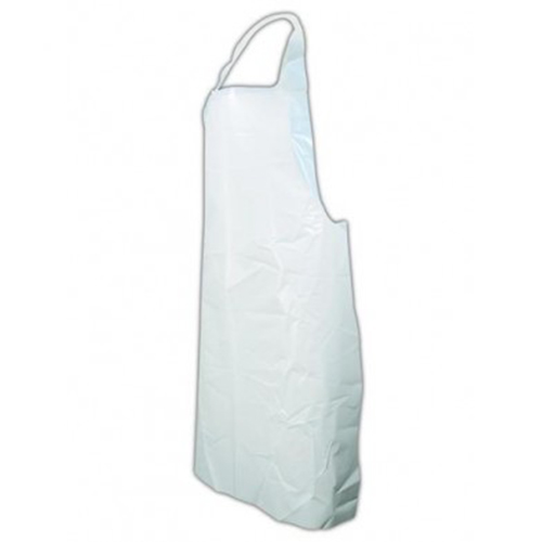 Disposable White Aprons - On A Roll-0
