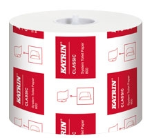 Katrin Classic System 800 Toilet Rolls 156005 - Case of 36