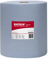 Katrin Classic XXL 3 Blue 500 laminated Wiper Roll 464224 - Case of 2