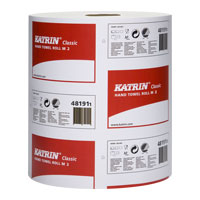 Katrin Classic 2-Ply White Mini Centrefeed Roll 481911 - Case of 6