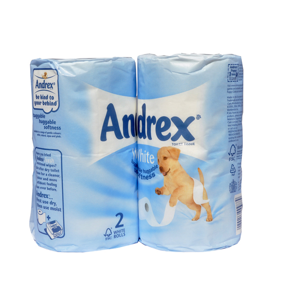 Andrex Luxury Toilet Tissue - Case of 6