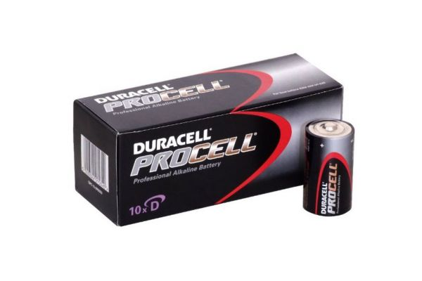 Duracell D Batteries - Pack of 10
