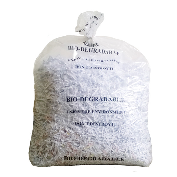 "Clear Biodegradable 18"" x 29"" x 39"" Refuse Sack (BIOC)"