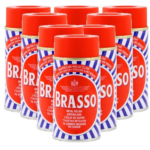 Brasso Metal Polish - 8 x 175ml-0
