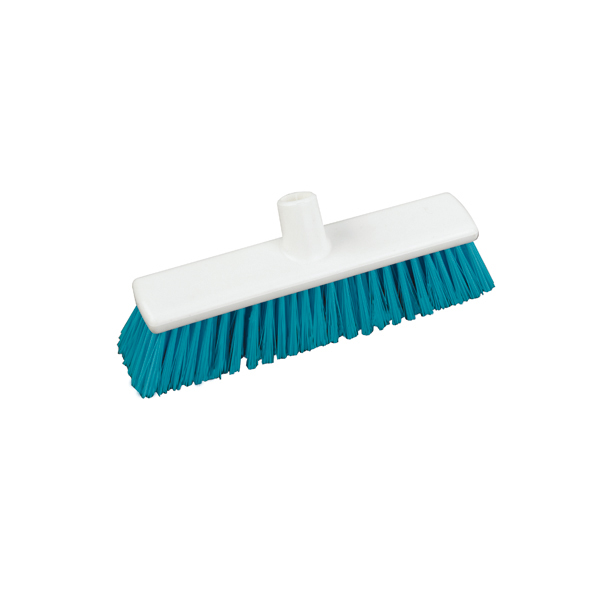 "12"" Stiff Hygiene Broom Head - Single"