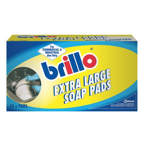 Brillo Extra Large Soap Pads - Pack of 6