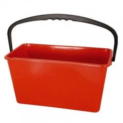 Red Window Cleaning Bucket - Single