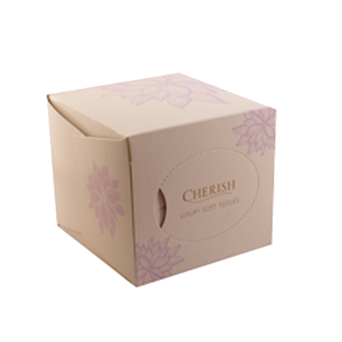 Cherish Cube Facial Tissues - Single