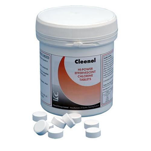 Cleenol Chlorine Sanitising Tablets - 200 Tablets