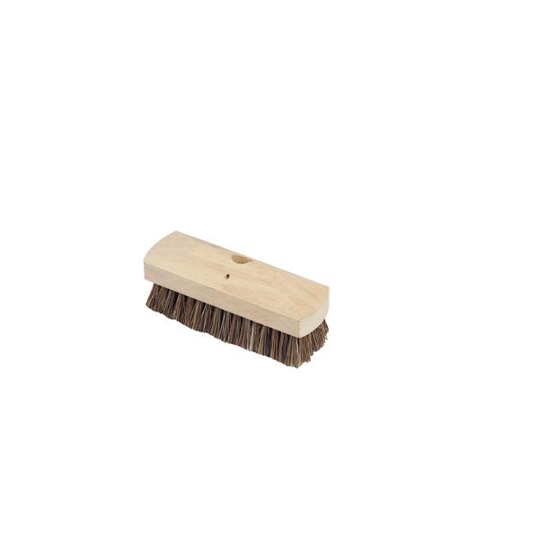 Deck Scrubbing Brush C/W Handle - Single