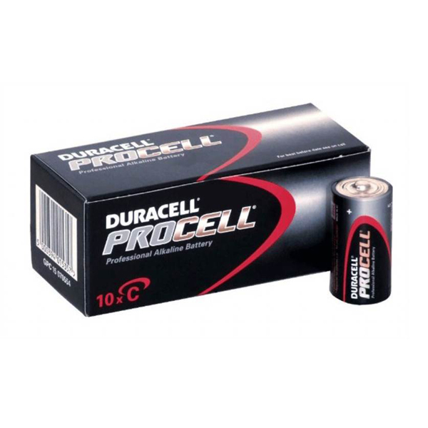 Duracell C Batteries - Pack of 10
