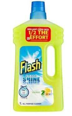 Flash Clean & Shine All Purpose Lemon Liquid - 1L-0