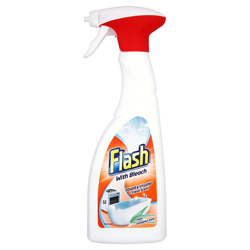 Flash Spray With Bleach - 10 x 500ml