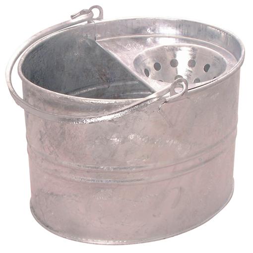 Contractors 11L Galvanised Bucket - Single