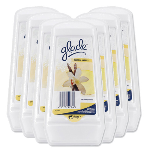 Glade Solid Gel Air Freshener - 8 x 150g