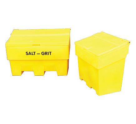 6 Cubic Feet Salt & Grit Bins - Single