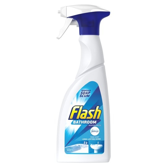Flash Bathroom Cleaner - 6 x 500ml-0
