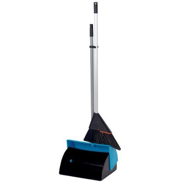 HD Lobby Dustpan C/W Brush - Single