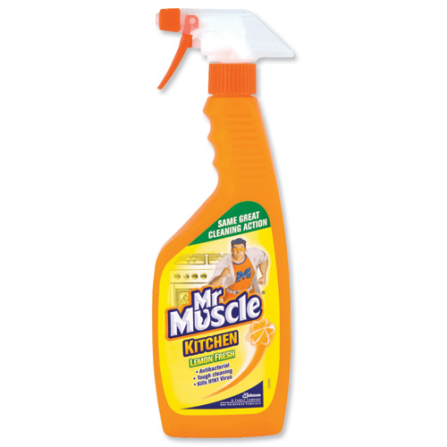 Mr Muscle Kitchen Cleaner - 6 x 750ml