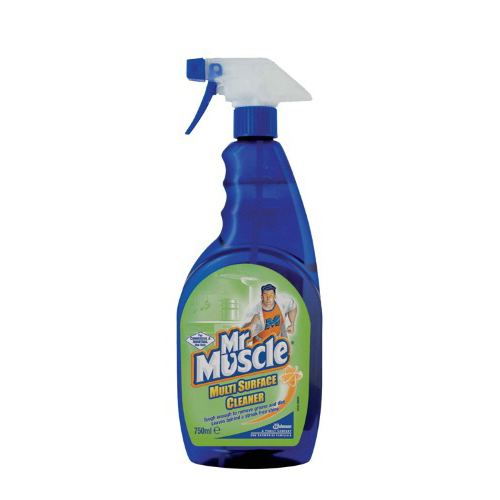 Mr Muscle Multi Surface Cleaner - 6 x 750ml
