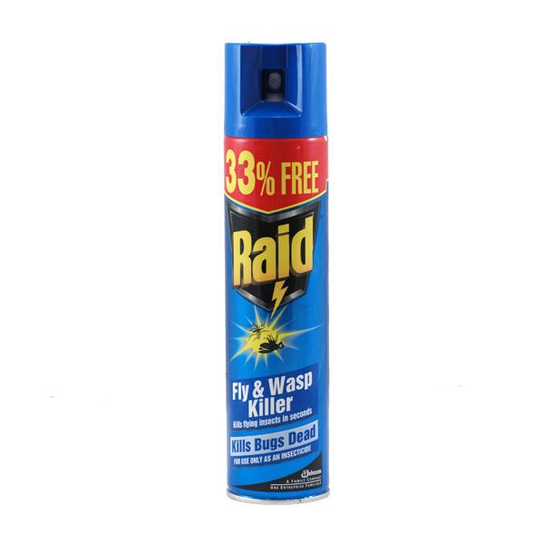 Raid Fly & Wasp Spray - 300ml