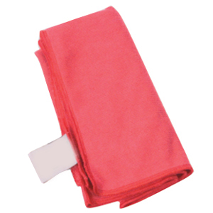 Red Microfibre Cloths - Pack of 10