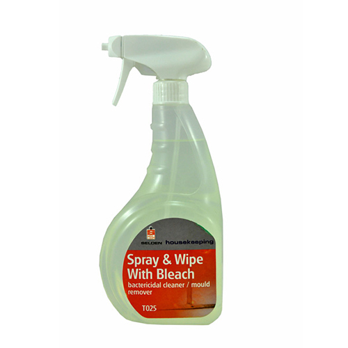 Selden Spray & Wipe With Bleach - 750ml