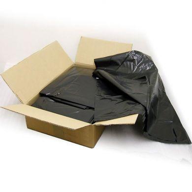 """Black 30"""" x 46"""" x 54"""" Wheelie Bin Liners - Case of 100"""