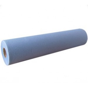 "Blue 20"" 2-Ply Wiper Roll - Case of 9"