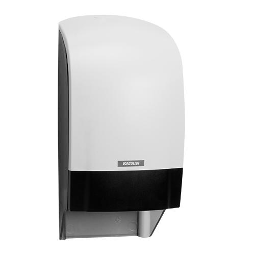 Katrin Inclusive White System Toilet Dispenser - 104582