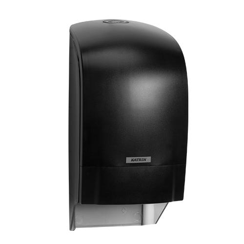 Katrin Inclusive Black System Toilet Roll Dispenser - 104605