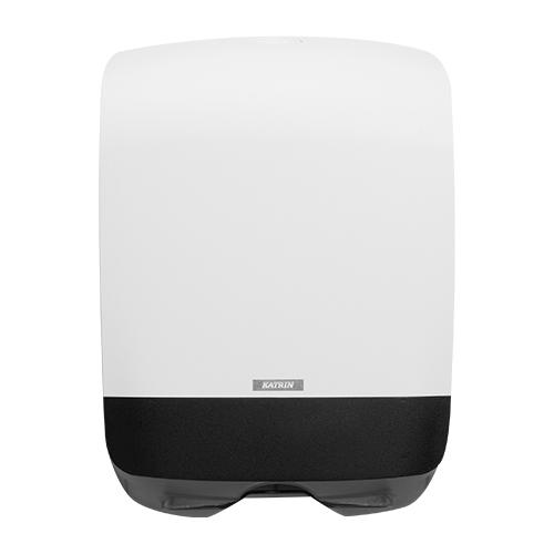 Katrin Inclusive White Hand Towel Mini Dispenser - 90182