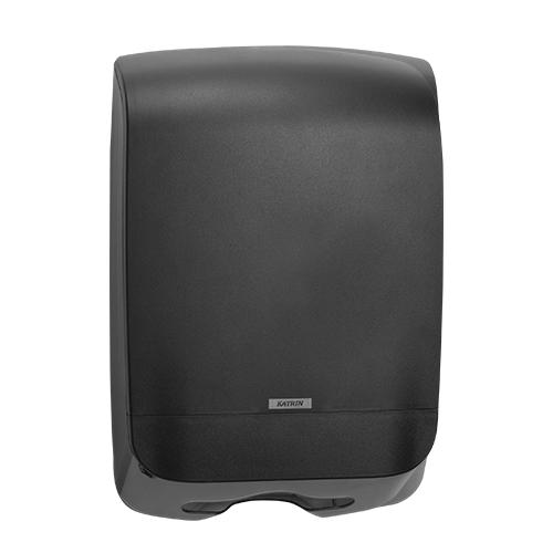 Katrin Inclusive Black Hand Towel M Dispenser - 92063