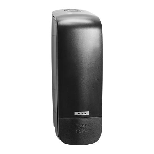 Katrin Inclusive Black Soap Dispenser 1000ml - 92209