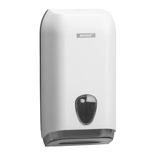 Katrin White Folded Toilet Tissue Dispenser - 92582