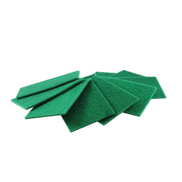 Heavy Duty Green Scourers - Pack x 10