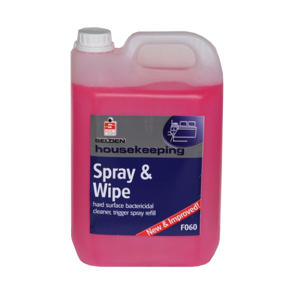 Selden Spray & Wipe - 5L