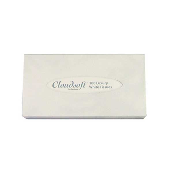 Cloudsoft Facial Tissues - Case of 36 Boxes