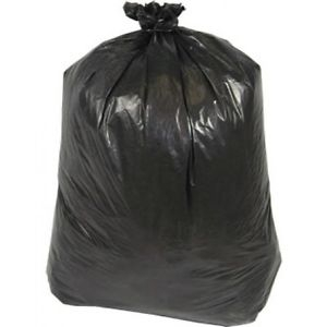 "Black 22"" x 35"" x 45"" Compactor Sacks (F19A2) - Case of 200-0"