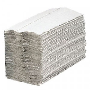 White C-fold 1-Ply Paper Hand Towel-0