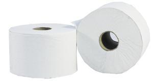 Micro Jumbo White 2-Ply 100m x 90mm Toilet Rolls -0