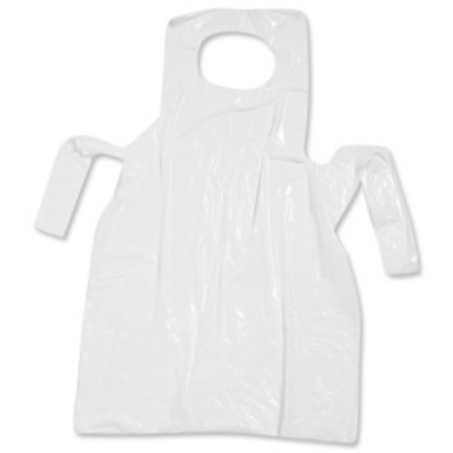 Disposable Aprons Flat Pack -White-0