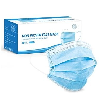 Type 2 Fluid Resistant Face Mask - Box of 50-0