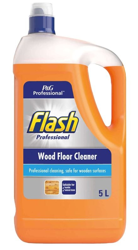 Flash Wood Floor Cleaner - 5L (Formerly Delicate Surfaces)-0