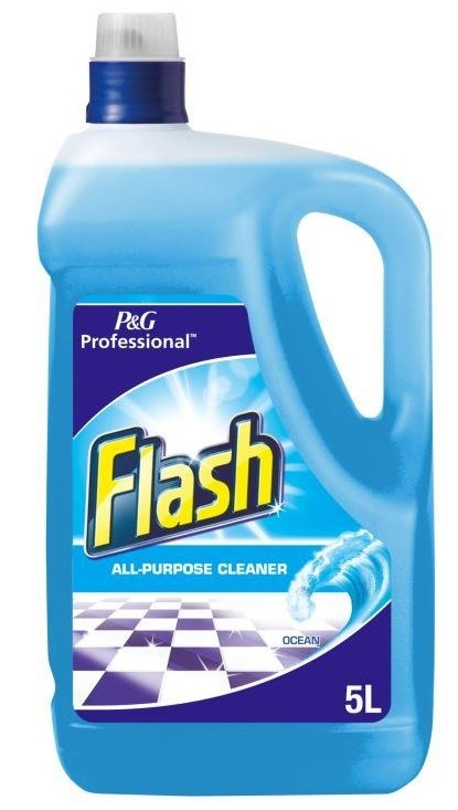 Flash All Purpose Liquid Ocean - 5L-0